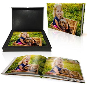 "8x11"" Personalised Padded Cover Book in Presentation Box"