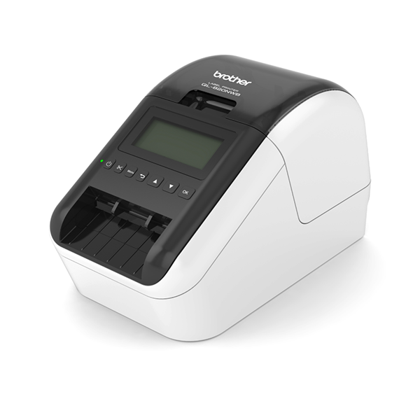 Brother QL-820NWB Label Printer, WIFI - LAN - Bluetooth