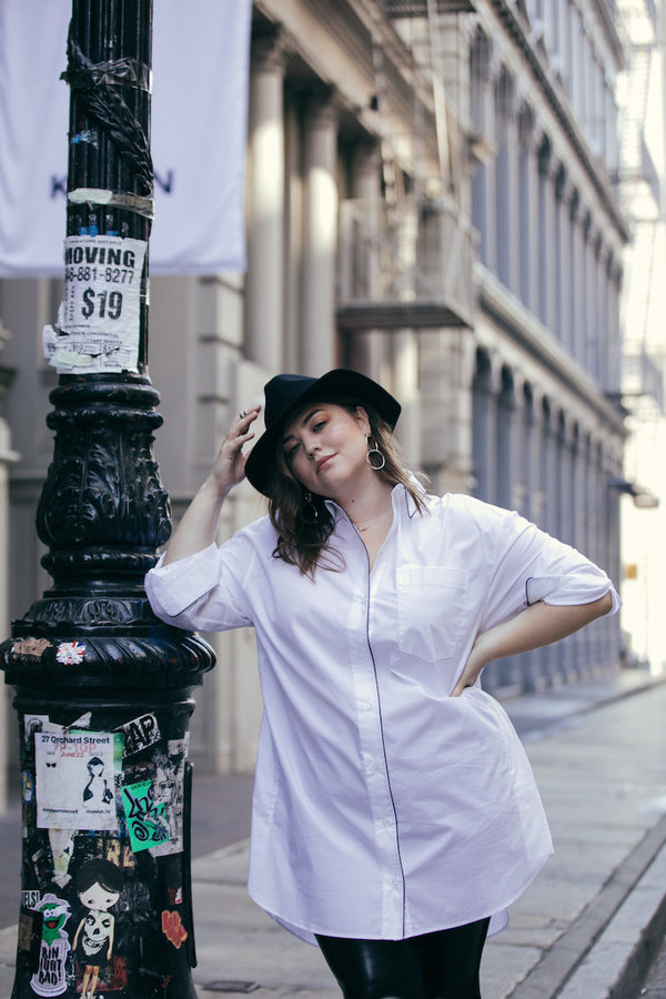 See Rose Go Plus Size Street Style as seen on Maxey Greene and Photograph by Lydia Hudgens