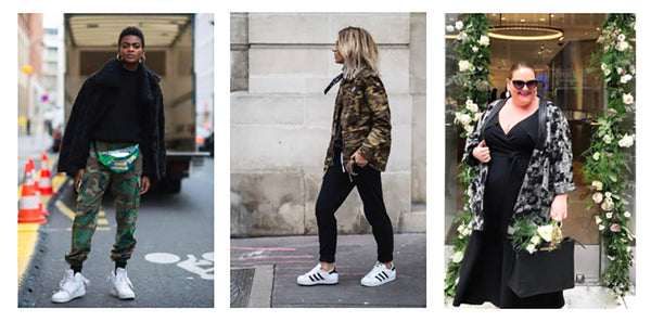 Wearing the camo trend in plus size fashion