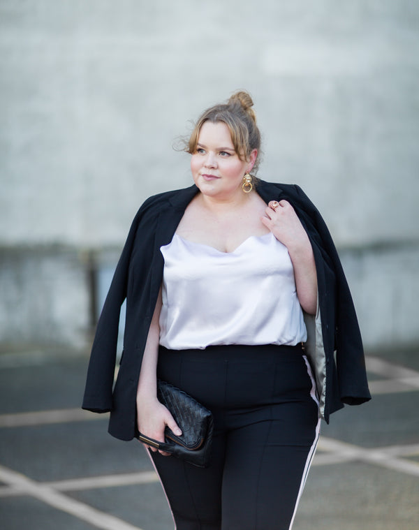 Emmi Snicker in See Rose Go aspirational plus size fashion in size 14-28