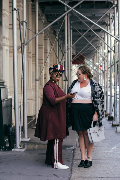 See Rose Go Plus Size Street Style New York Fashion Week Diversity