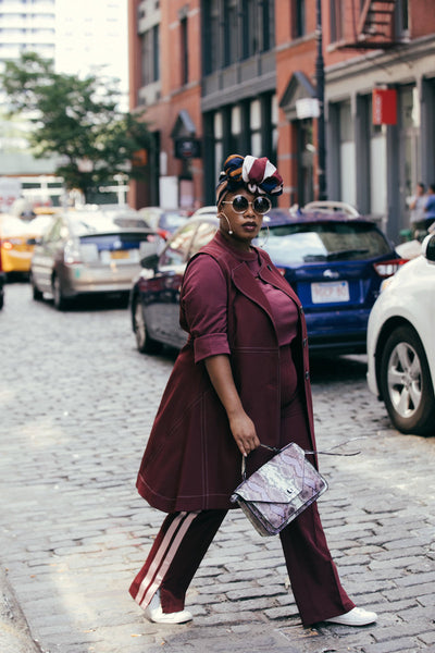 35c295be15b See Rose Go Plus Size Street Style New York Fashion Week