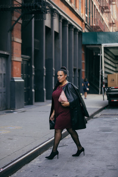See Rose Go Plus Size Street Style Look as seen on Madeline Jones and Photograph by Lydia Hudgens