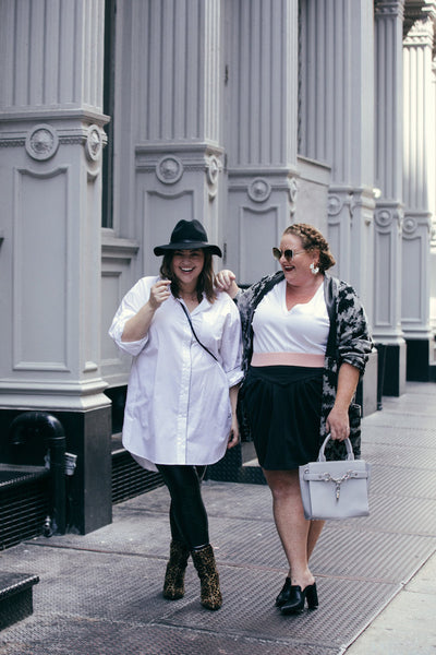 See Rose Go Plus Size Street Style as seen on Meaghan O'Connor Maxey Greene and Photograph by Lydia Hudgens
