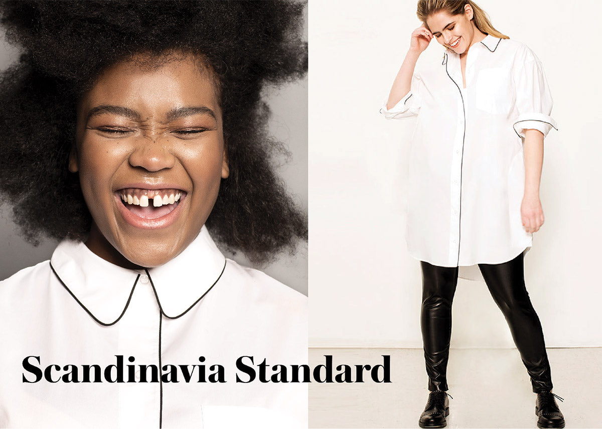Scandinavia Standard Talks Minimalist Plus Size Clothing Brands