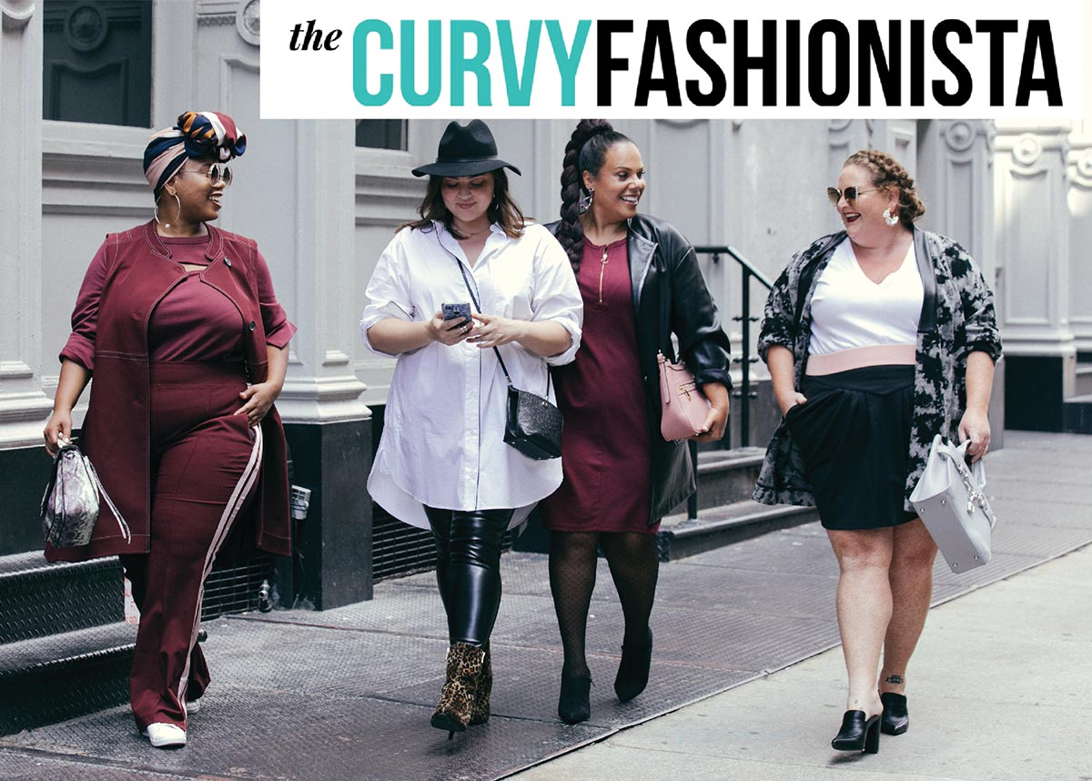 Plus size NYFW 2019 with the Curvy Fashionista