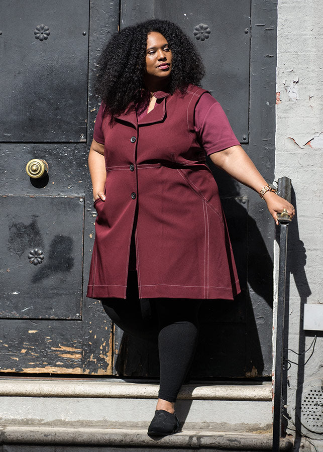 Shop effortless styles at premium plus size brand See Rose Go