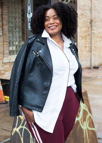 Plus Size brand See Rose Go and how to French Tuck #FRENCHTUCK