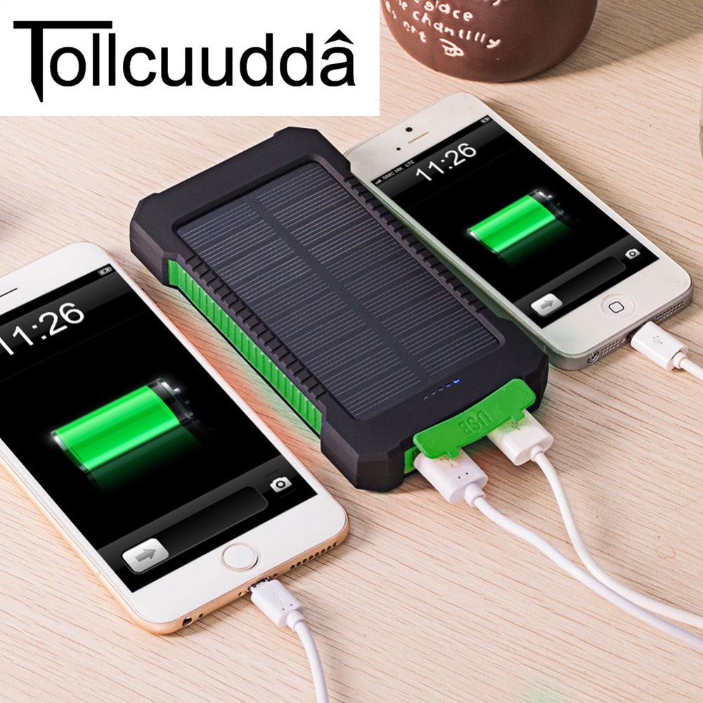 Solar Powered Mobile Phone Charger