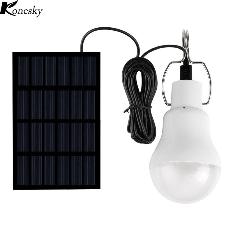 Solar Charged LED Lamp Lightbulb