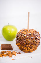 Butterfinger Caramel Apple