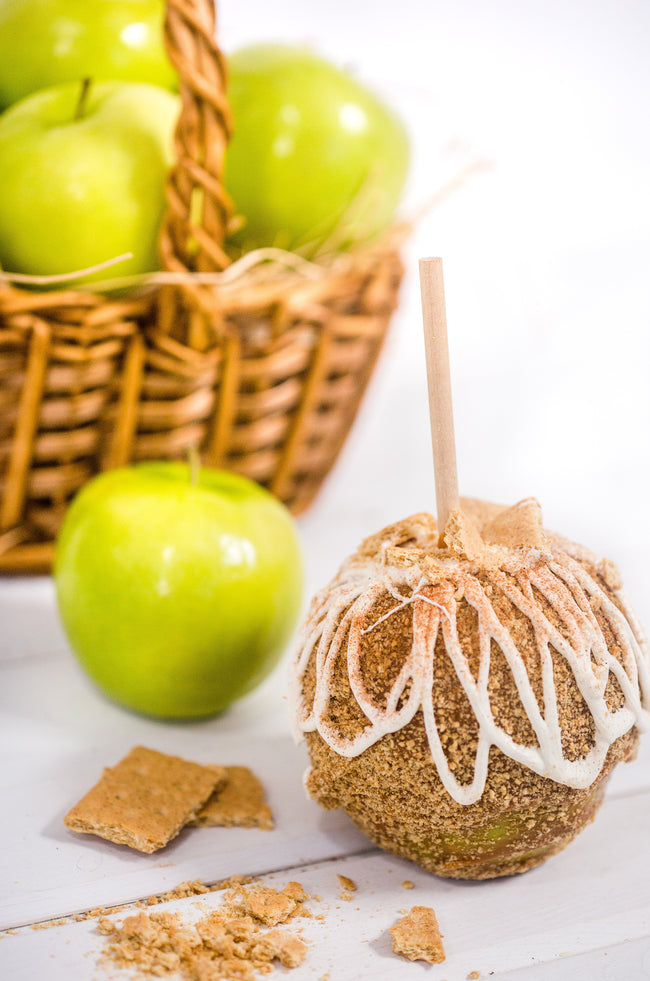 Apple Pie Caramel Apple