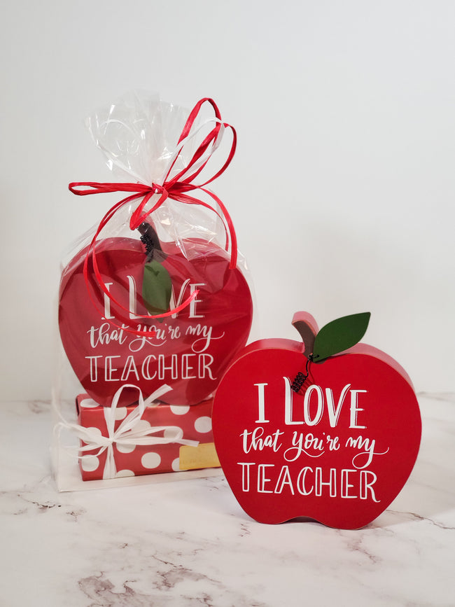 I Love That You're My Teacher Gift Set
