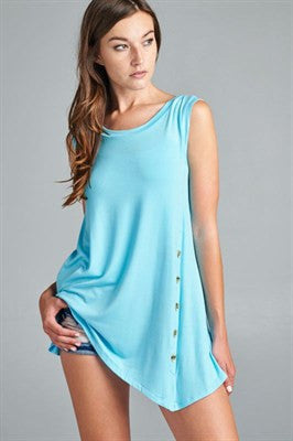 Button Tank Top - Ruthie's Rack