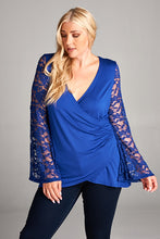 Dressy Wrapped Tunic Top