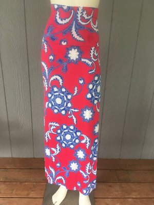 Maxi Skirt- Embroidered - Ruthie's Rack
