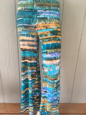 Multi Color Palazzo Pants - Ruthie's Rack