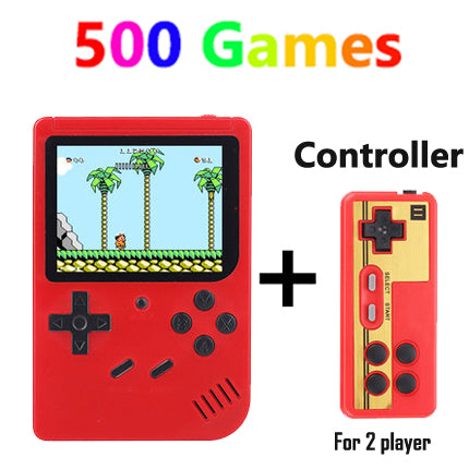 Retro-Game Box - Upto 500 Games in 1