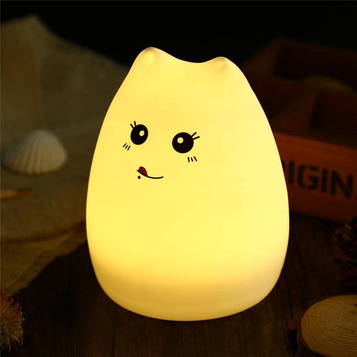 Cute Color Changing Led Cat Lamp - DIGFORDEALS