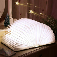 Foldable LED Wooden Book - DIGFORDEALS