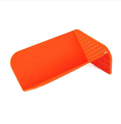 Multifunctional Foldable Drain and Plastic Cutting Board Chopping Boards Kitchen Supplies Colors Vary