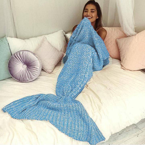 The Amazing Mermaid Blanket - w/ Free Shipping! - DIGFORDEALS