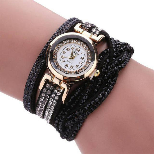 Luxury Crystal Jewelry Watch - DIGFORDEALS