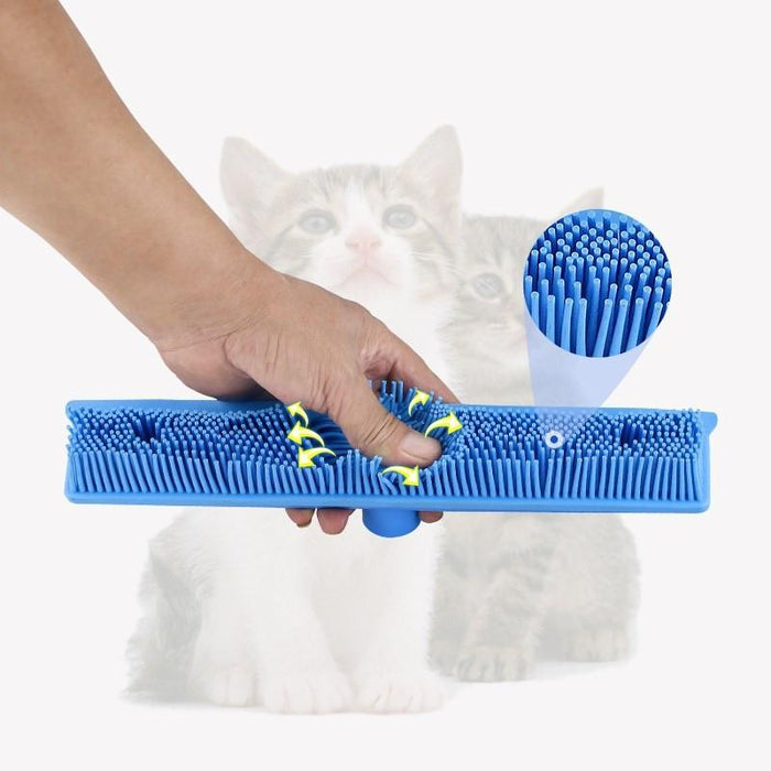 Rubber Broom Pet Hair Remover - DIGFORDEALS