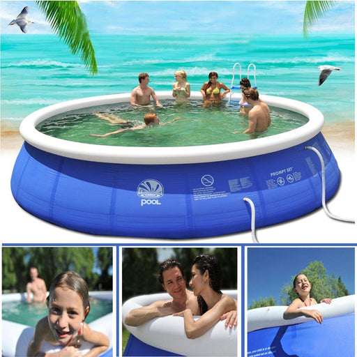 Portable Swimming Pool - Inflatable Outdoor Pool - DIGFORDEALS
