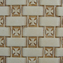 Open Iron Cross Basket Weave