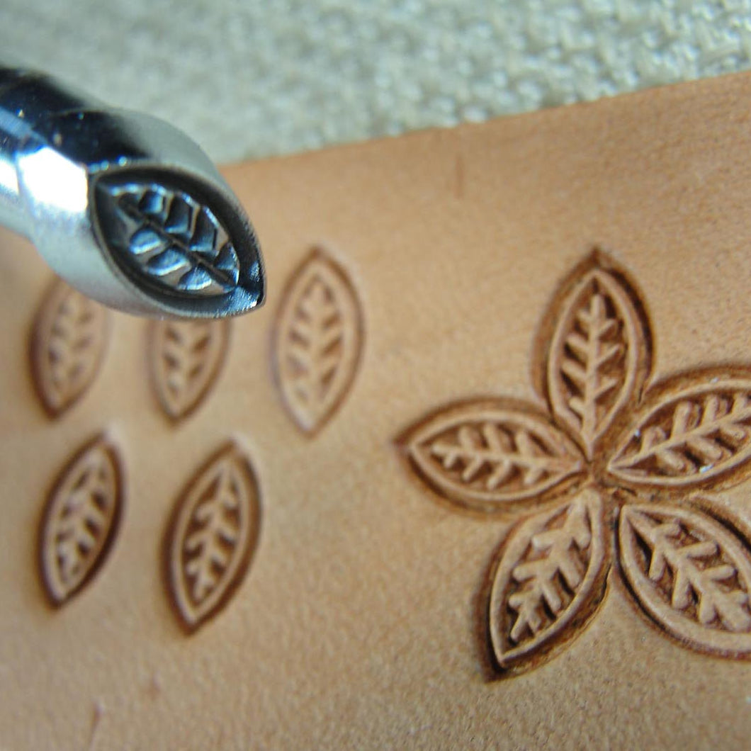 Leather Stamping Tool #O35 Small Leaf//Petal Stamp Craft Japan