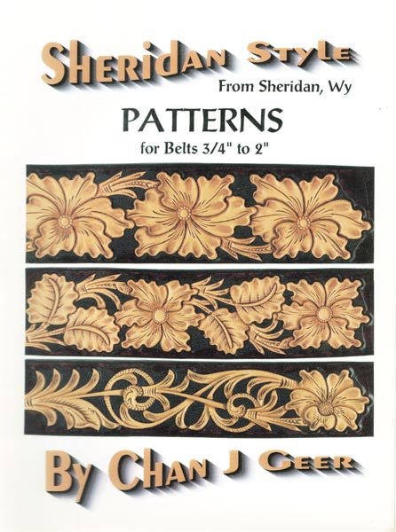 Sheridan Style Patterns for Belts