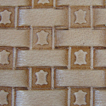 Leather Hide Basket Weave