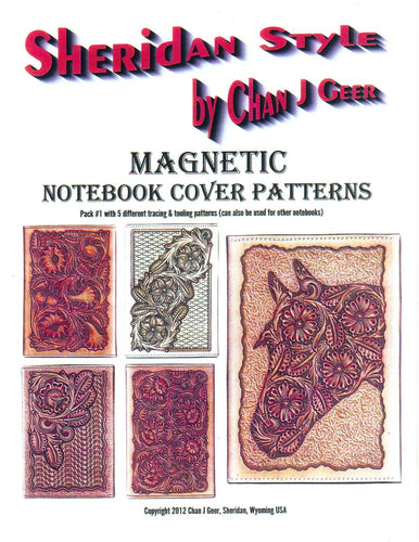 Sheridan Style Magnetic Notebook Cover Patterns #1