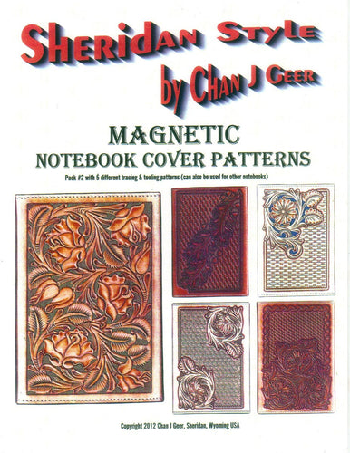 Sheridan Style Magnetic Notebook Cover Patterns #2