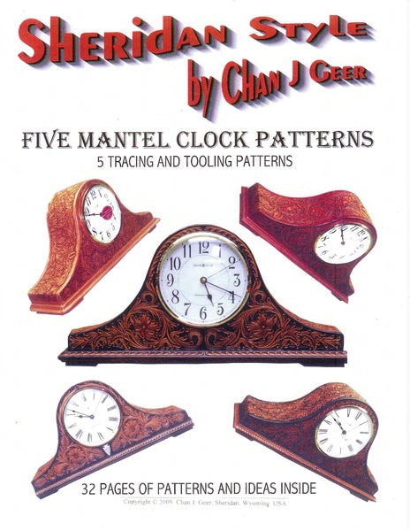 Sheridan Style Mantel Clock Patterns