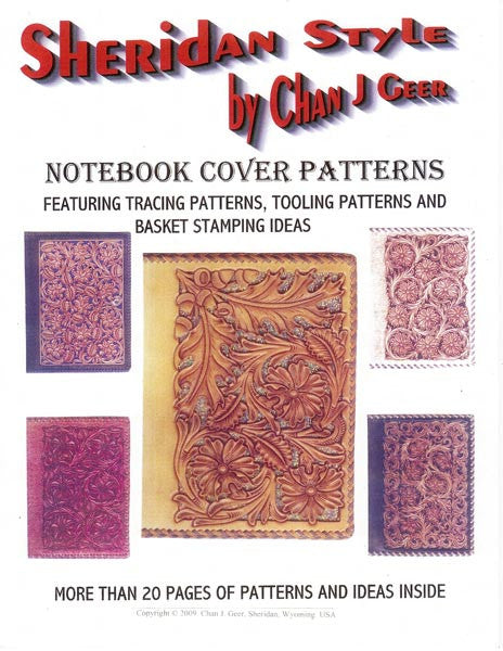 Sheridan Style Notebook Cover Patterns