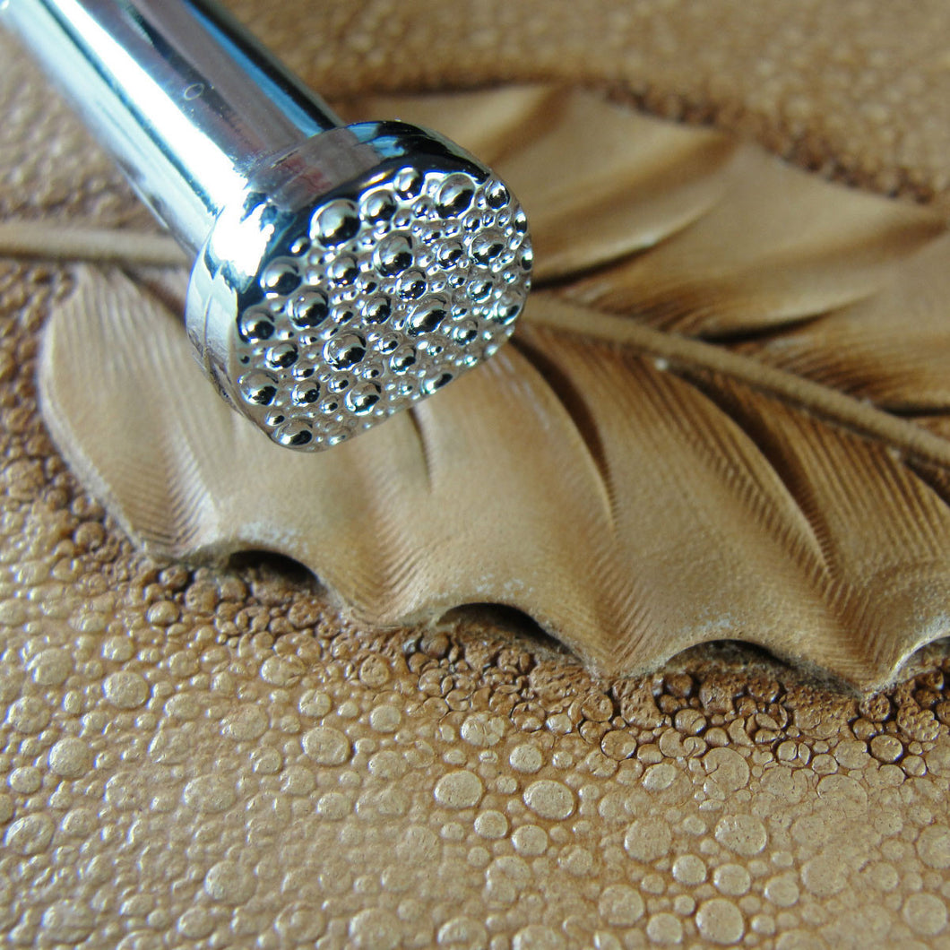 Large Pebble Matting Texture Leather Stamp Pro Leather