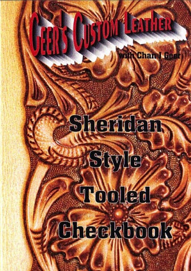Sheridan Style Tooled Checkbook DVD