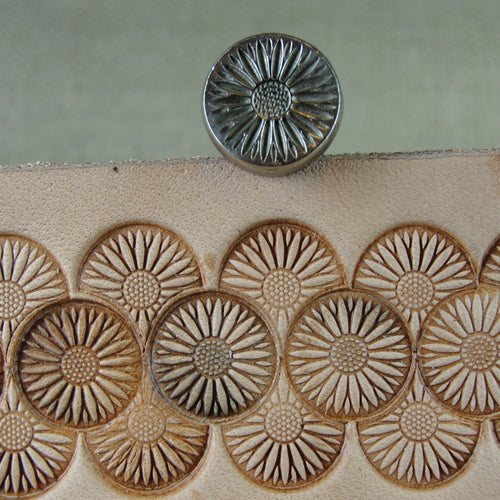 J520 12-Seed Flower Center Stamp Leather Stamping Tool