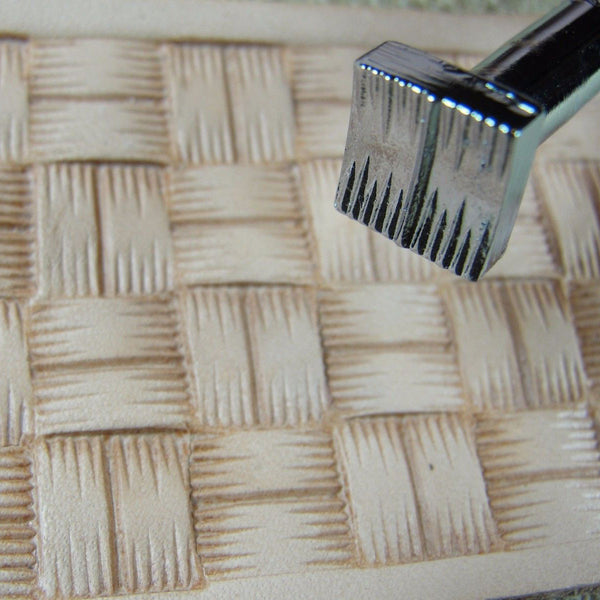 X507 Large Square Basket Weave