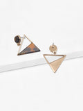 Taylor Triangle Cut Out Earrings