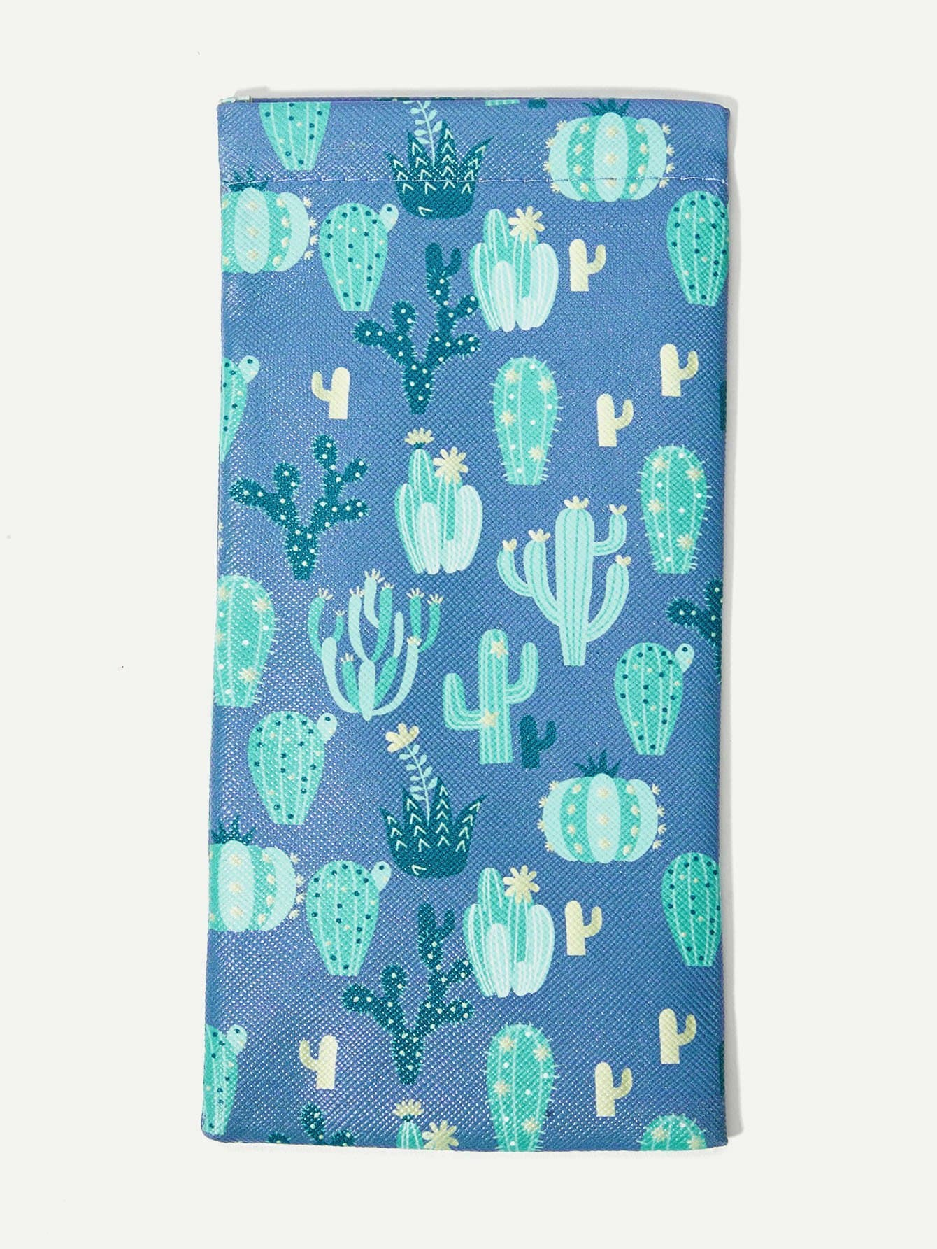 Cactus Print Sunglasses Bag
