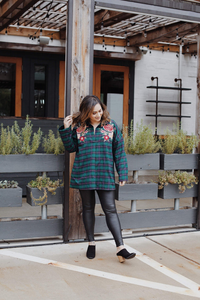 Blakely Plaid Tunic