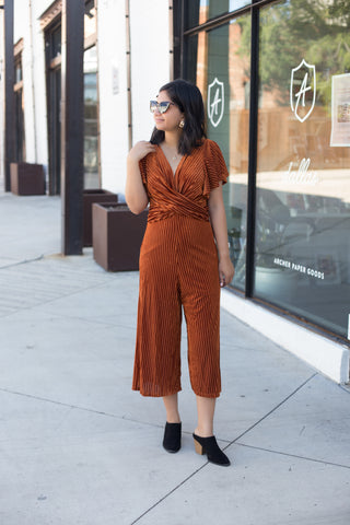 Heather Corduroy Overalls