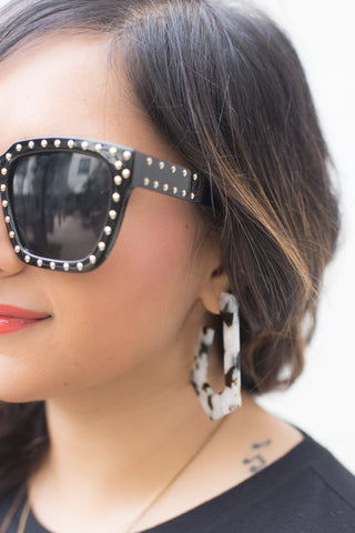Carly Round Mirror Sunglasses