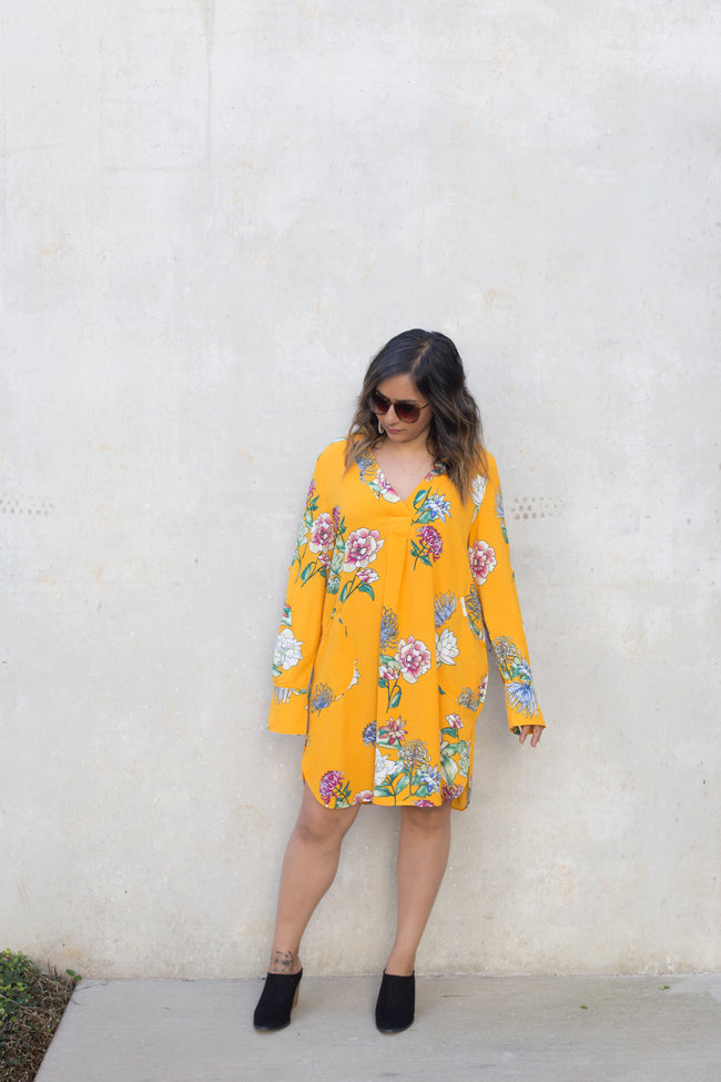 Lemon Mix Dress