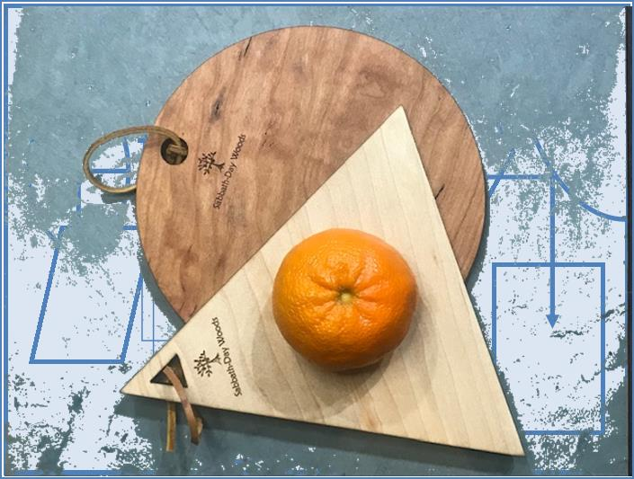 Geometrics Small Cutting Boards