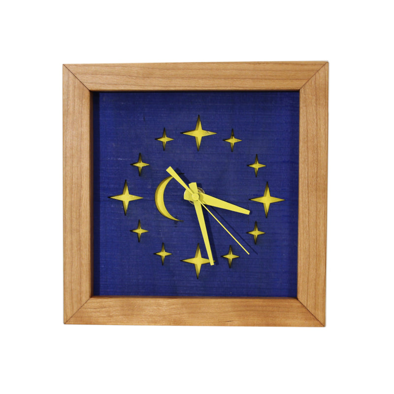 Starry Night Box Clock